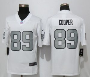 2016 New Nike Oakland Raiders 89 Cooper Navy White Color Rush Limited Jersey