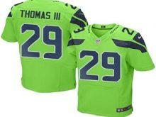 2016 Nike Seahawks 29 Earl Thomas III Green Men Stitched NFL Elite Rush Jersey