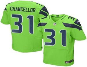 2016 Nike Seahawks 31 Kam Chancellor Green Men Stitched NFL Elite Rush Jersey