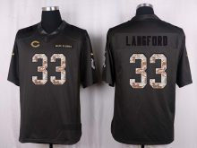 Chicago Bears 33 Langford 2016 Nike Anthracite Salute to Service Limited Jersey