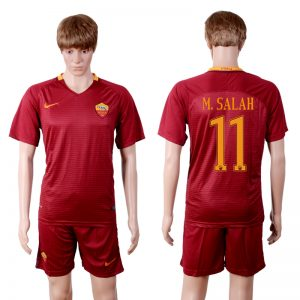 2016-2017 club Rome home 11 Red Soccer Jersey
