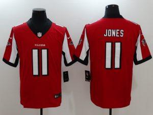 Atlanta Falcons 11 Jones Red Nike Vapor Untouchable Limited Jersey
