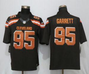 Men Cleveland Browns 95 Garrett Brown Nike Draft Pick Limited NFL Jerseys