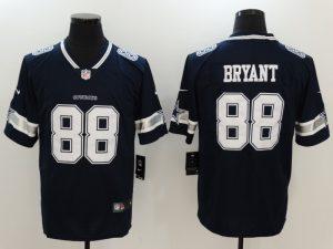 Men Dallas Cowboys 88 Bryant Blue Nike Vapor Untouchable Limited NFL Jerseys