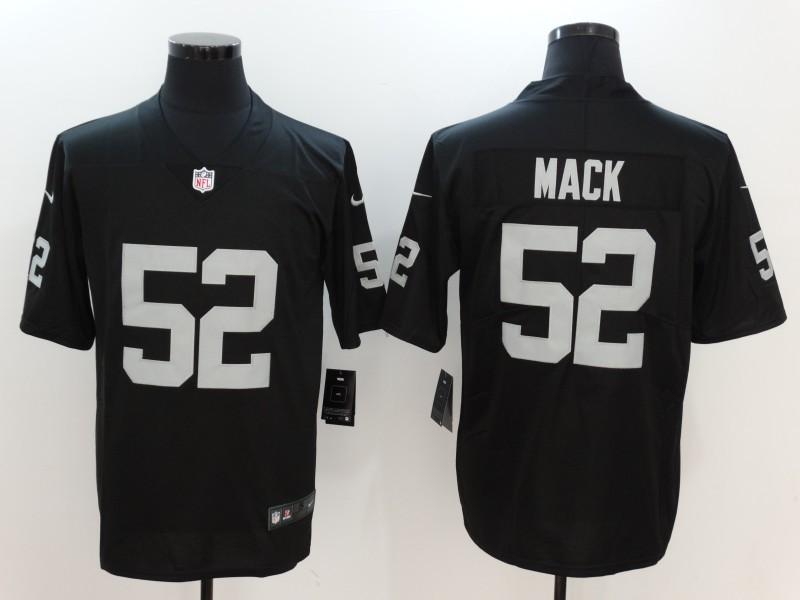 Oakland Raiders 52 Mack Black Nike Vapor Untouchable Limited Jersey